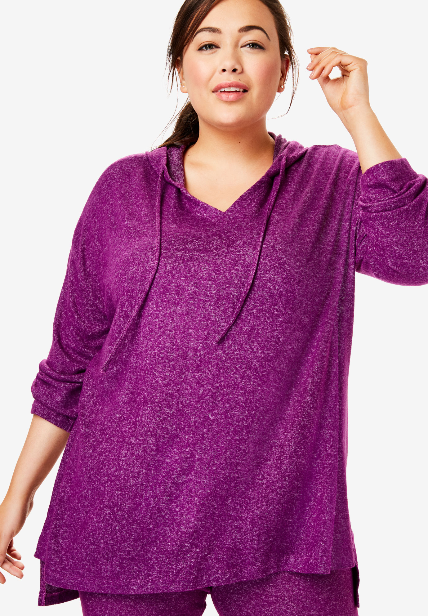 Dreams & Co.® Supersoft Oversized Lounge Sweater,