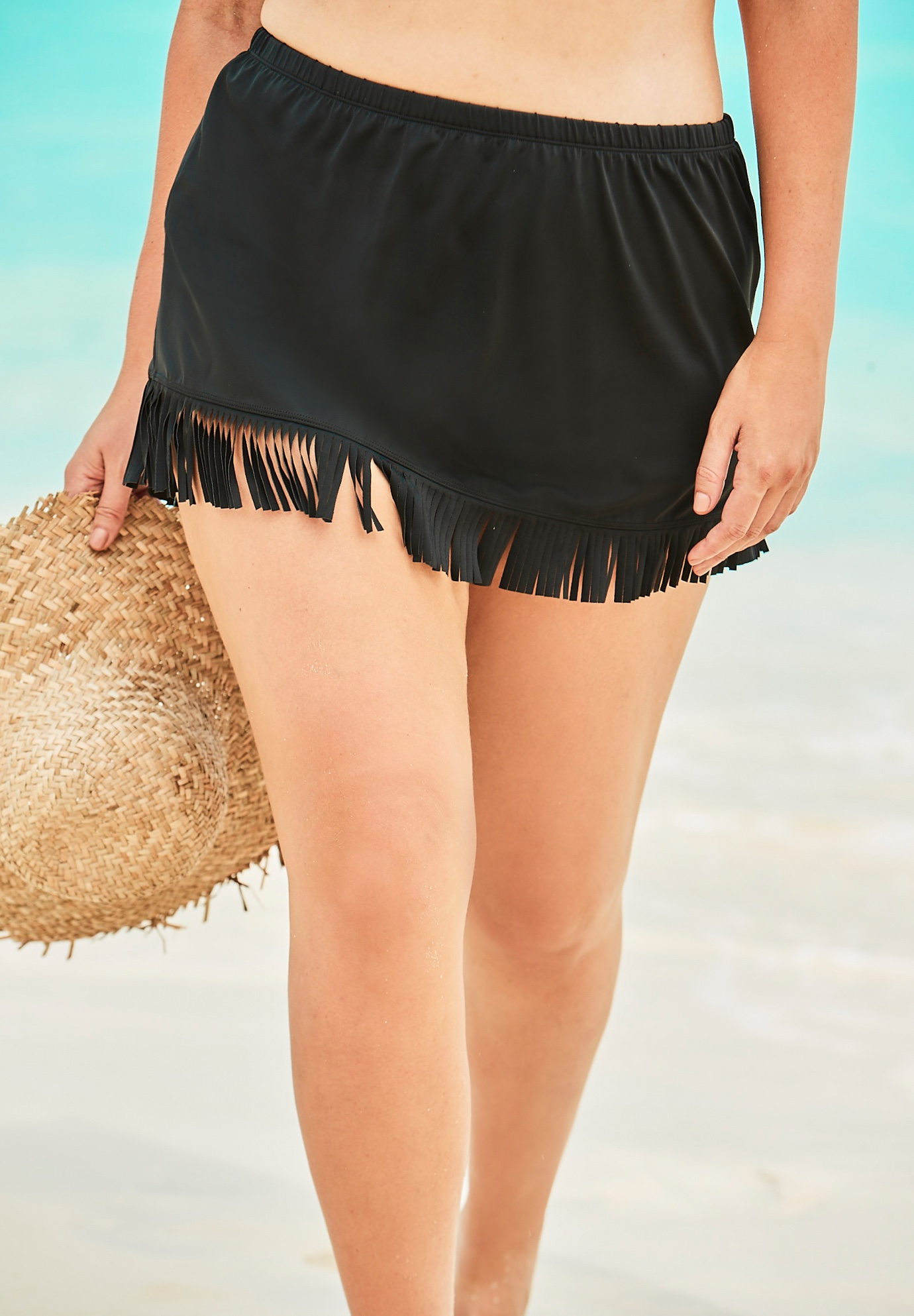 Fringe Swim Skirt by Swim 365,