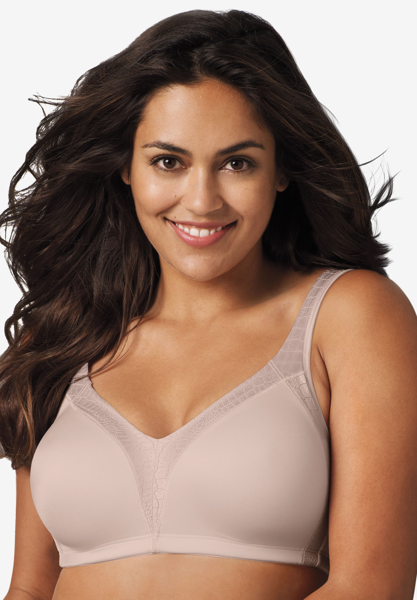 Playtex® 18 Hour® Back Smoother Wireless Bra #4E77B,