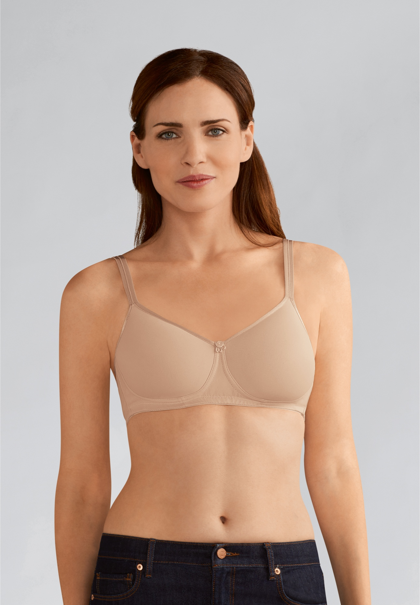 Mara Padded Wire Free Bra 1150 By Amoena,