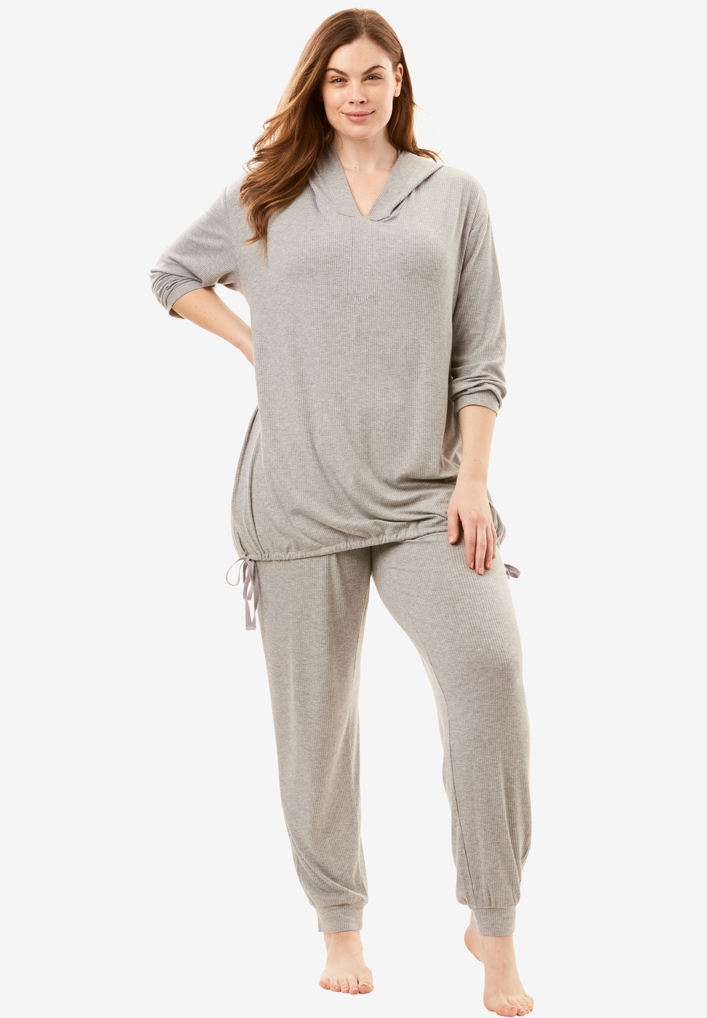 Lightweight Lounge Set by Dreams & Co.®, HEATHER GREY