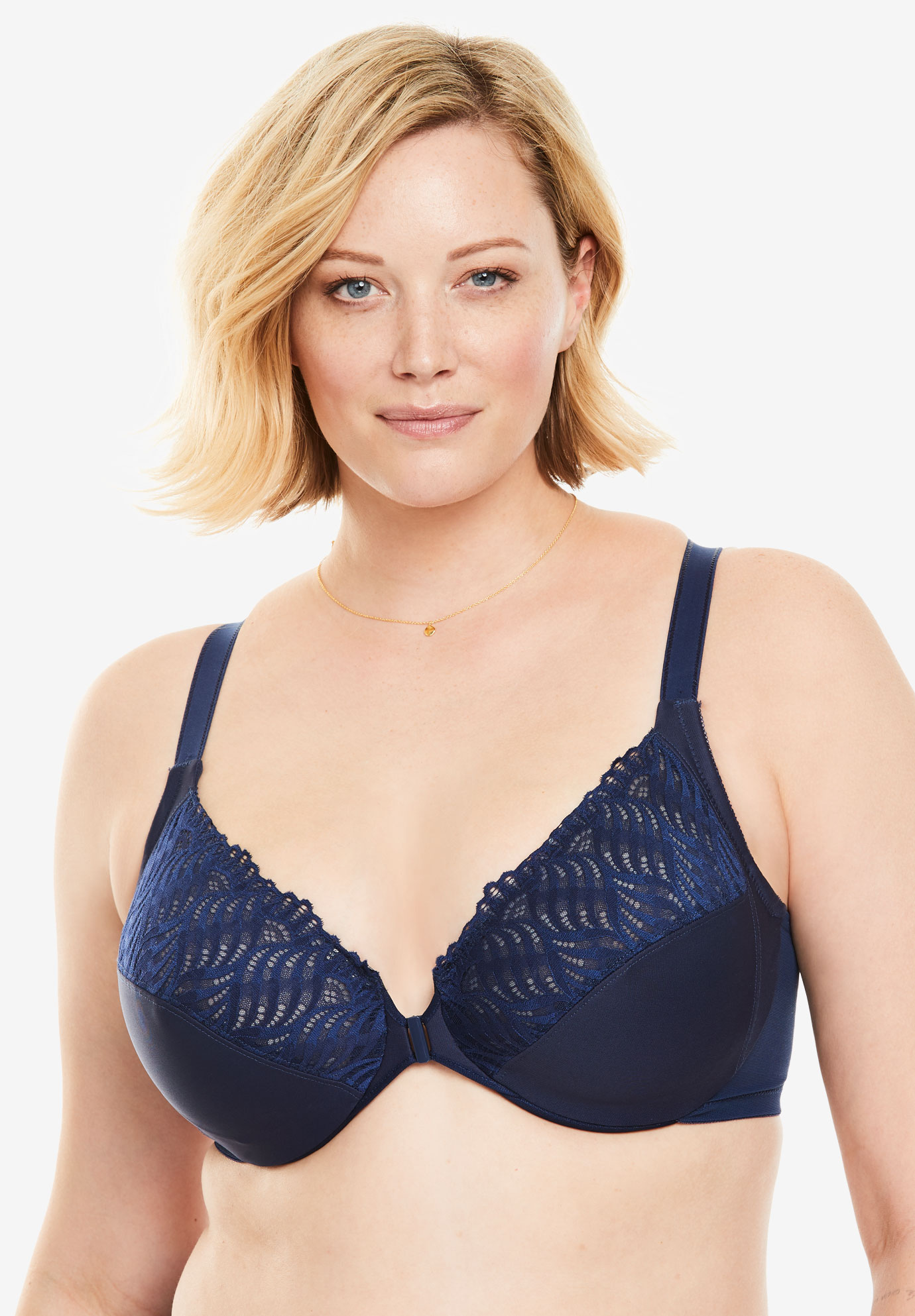 a3314c2afad Glamorise® Wonderwire® Front Close T-Back Bra  1246