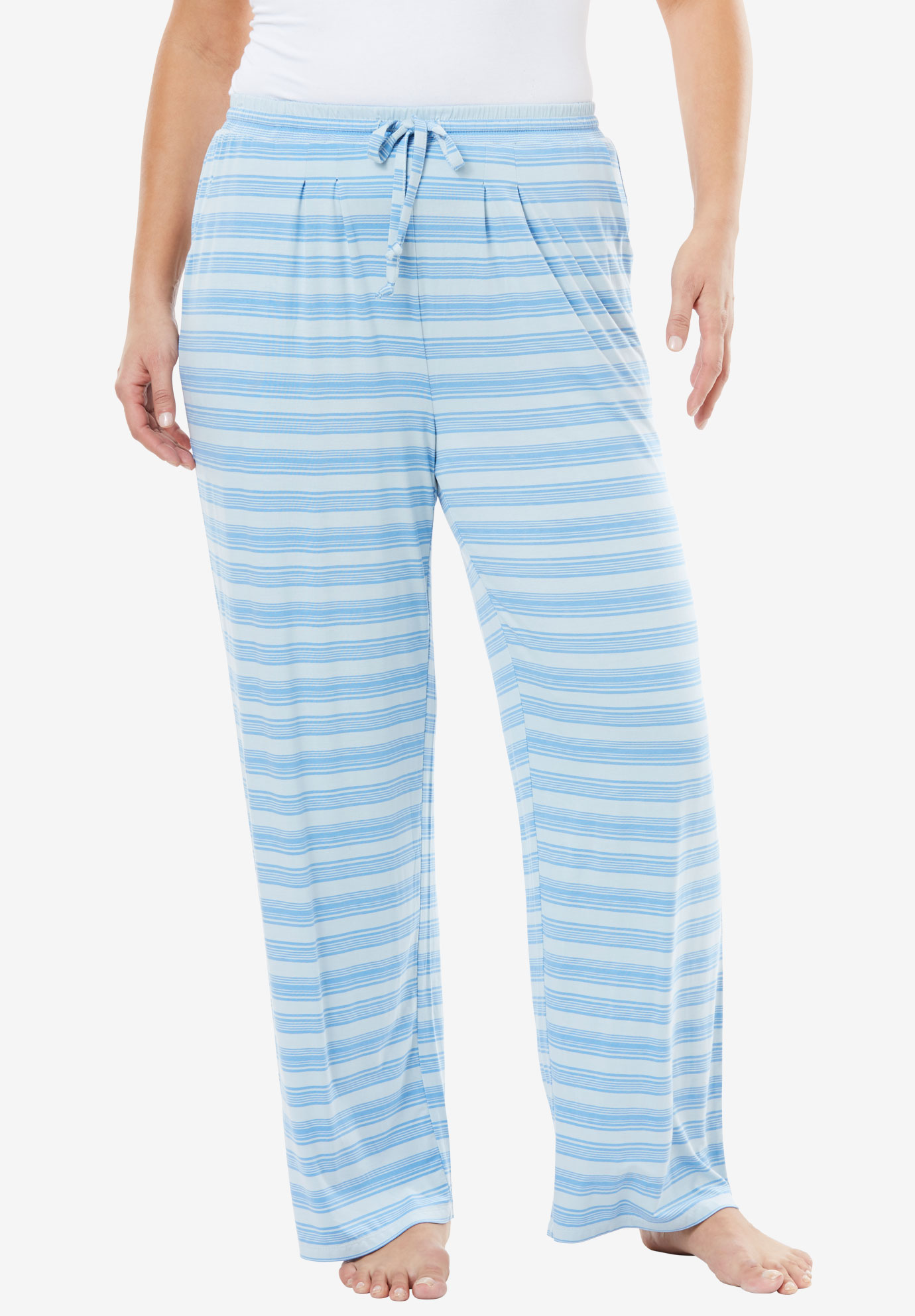Sweet Dream Printed Pajama Pant by Dreams & Co.®,