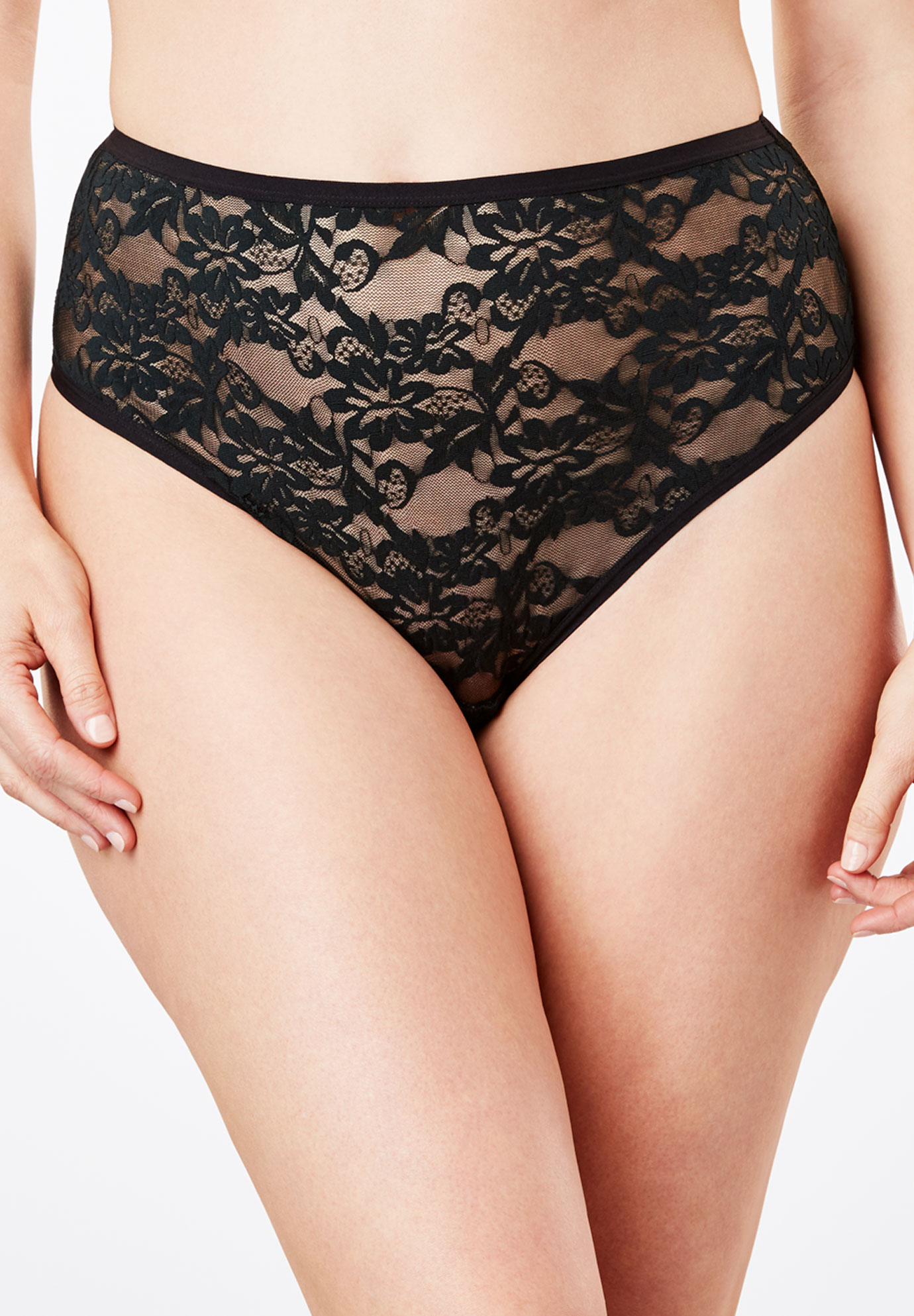 7a4dd35d54d High-Cut Lace Panty by Comfort Choice®