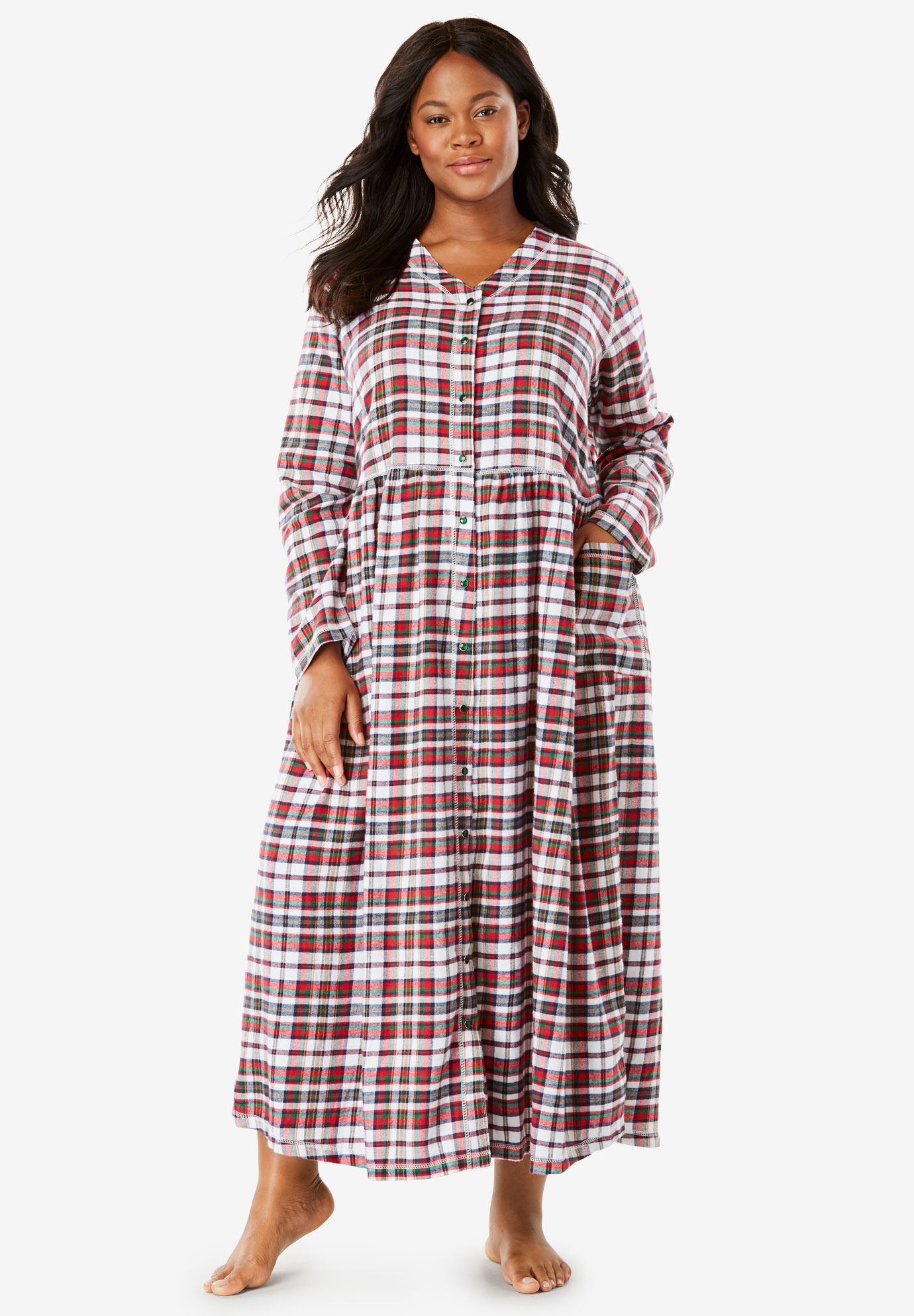 8f4f4d3657 Flannel Plaid Lounger by Only Necessities®