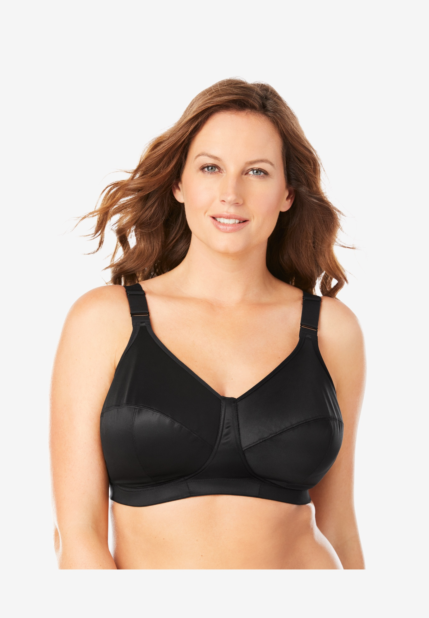 Goddess® Celeste Soft Cup Cooling Wireless Bra GD6113,