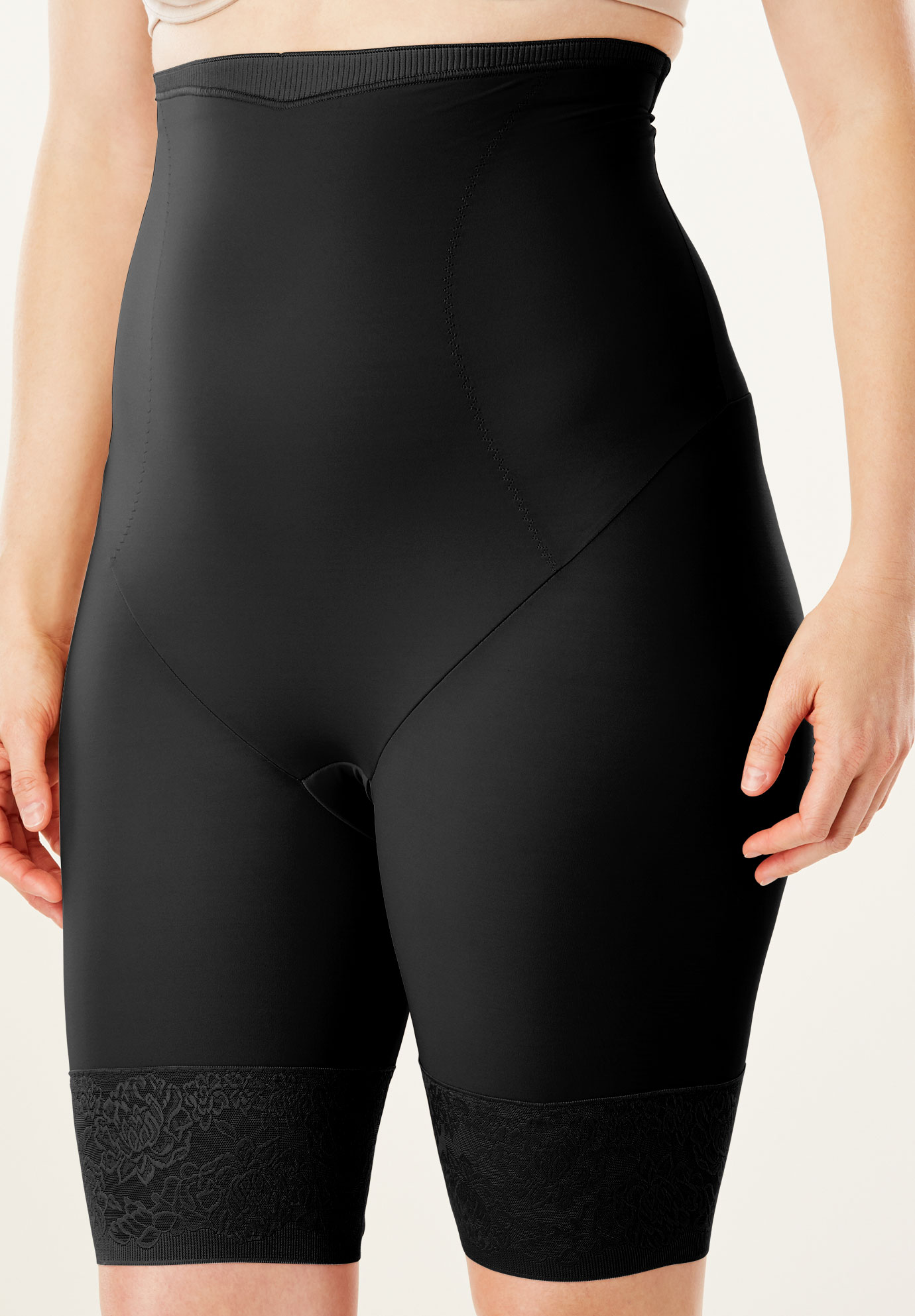 Firm Control Shaping Shorts by Maidenform®, BLACK