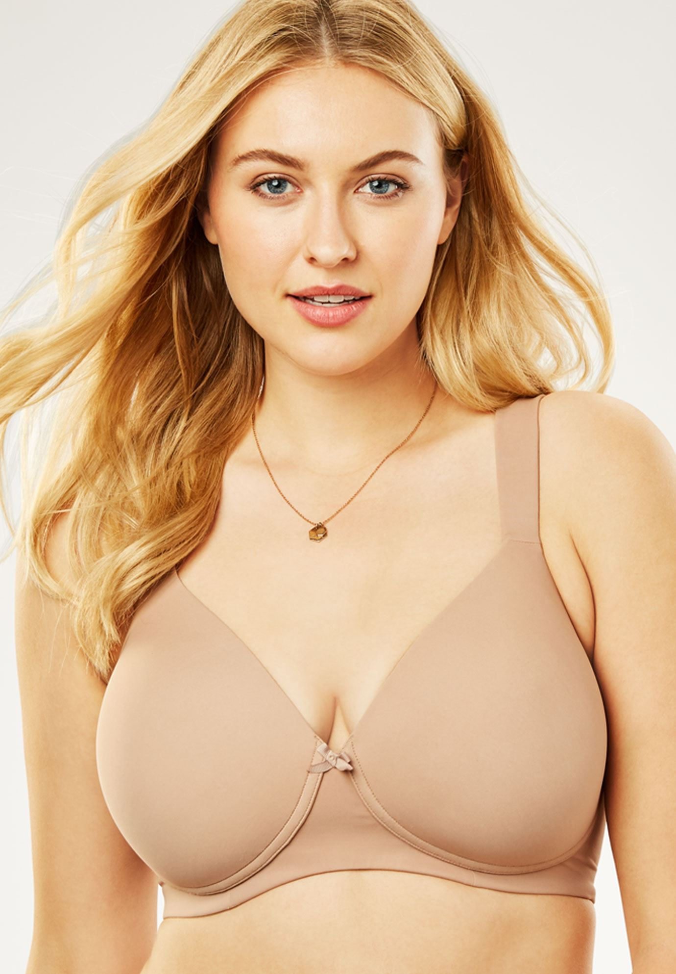 Wireless Balconette T-Shirt Bra by Leading Lady®,