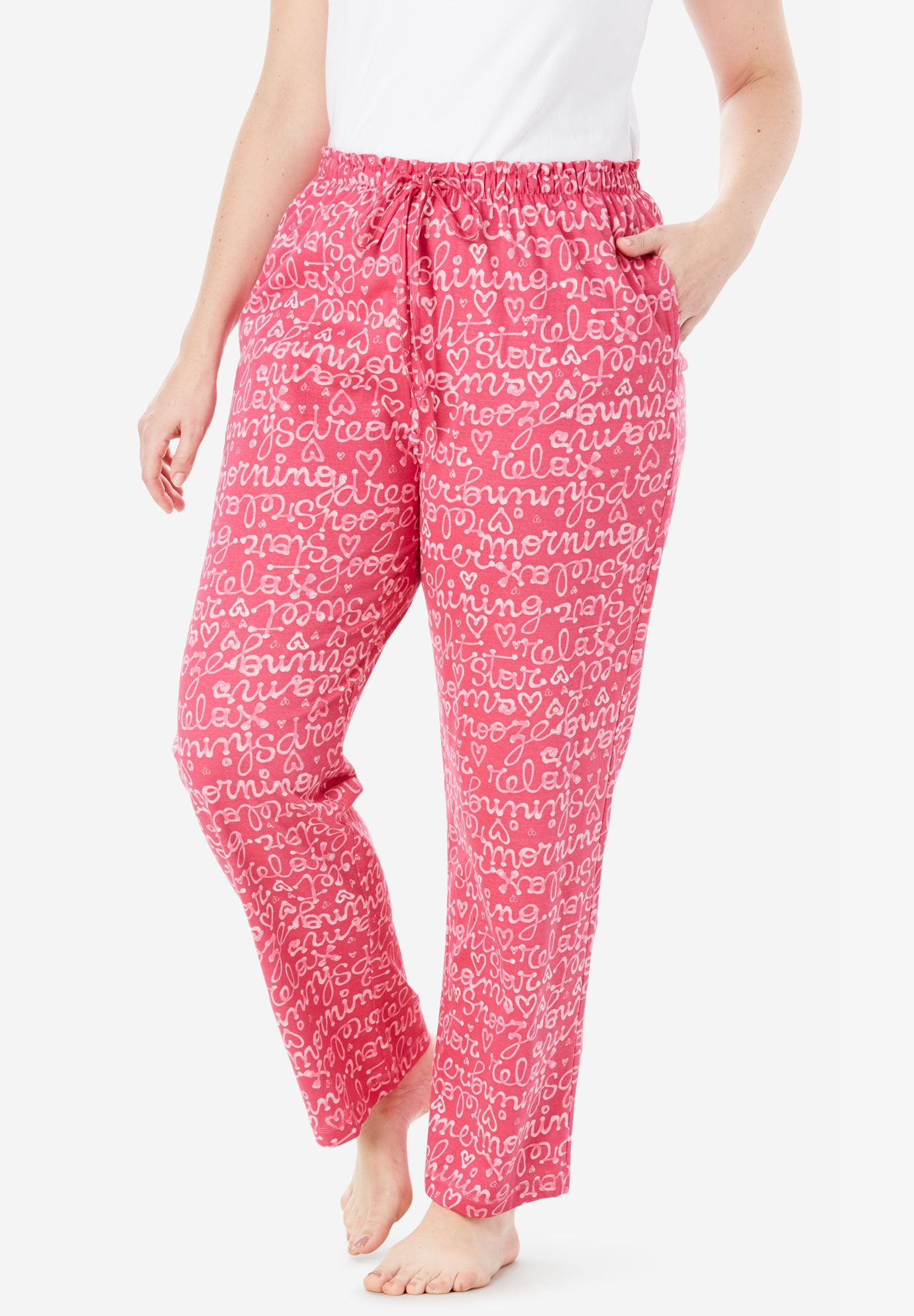 Knit Sleep Pants by Dreams & Co.®,