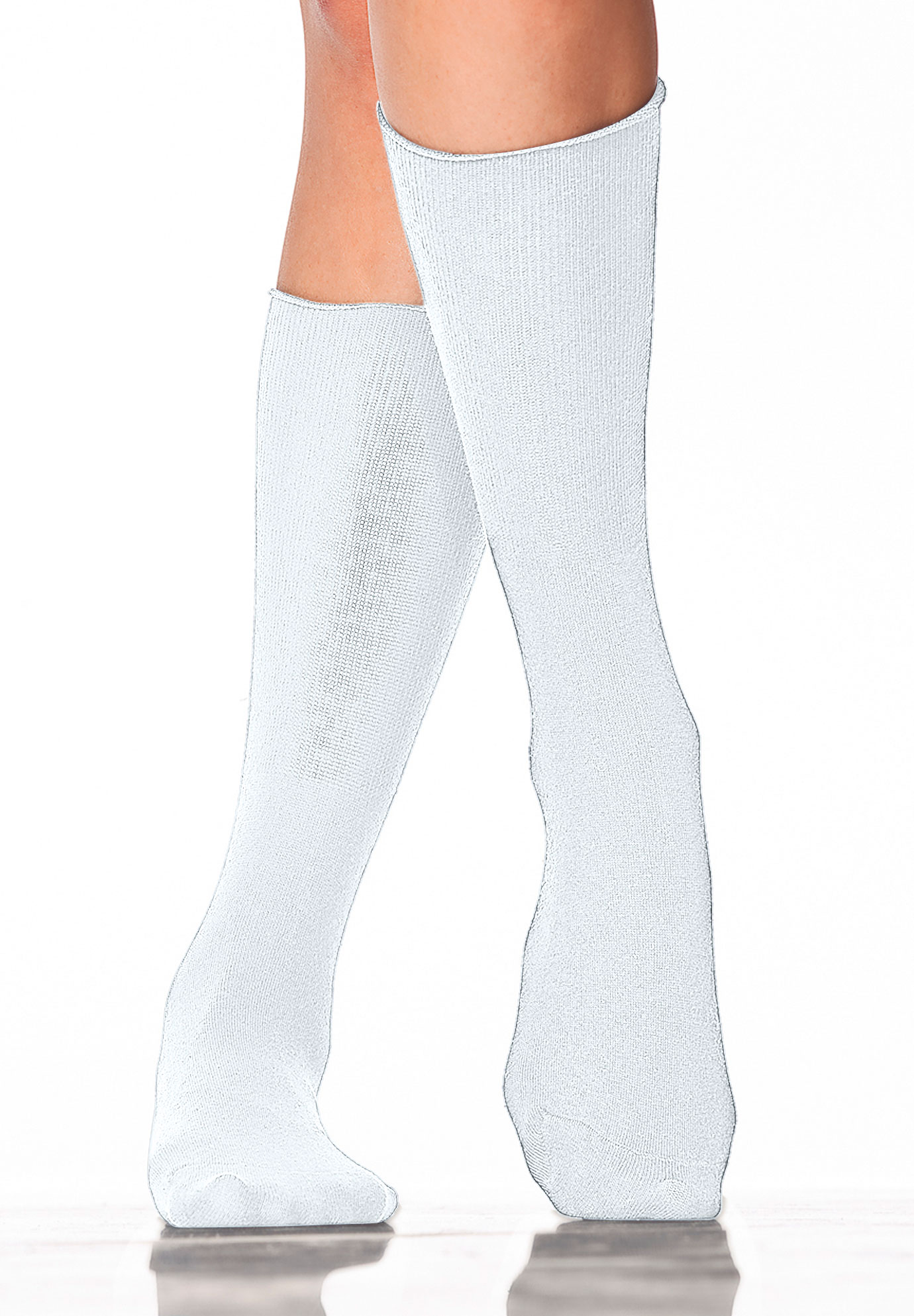 2-pack cotton trouser socks by Comfort Choice®,