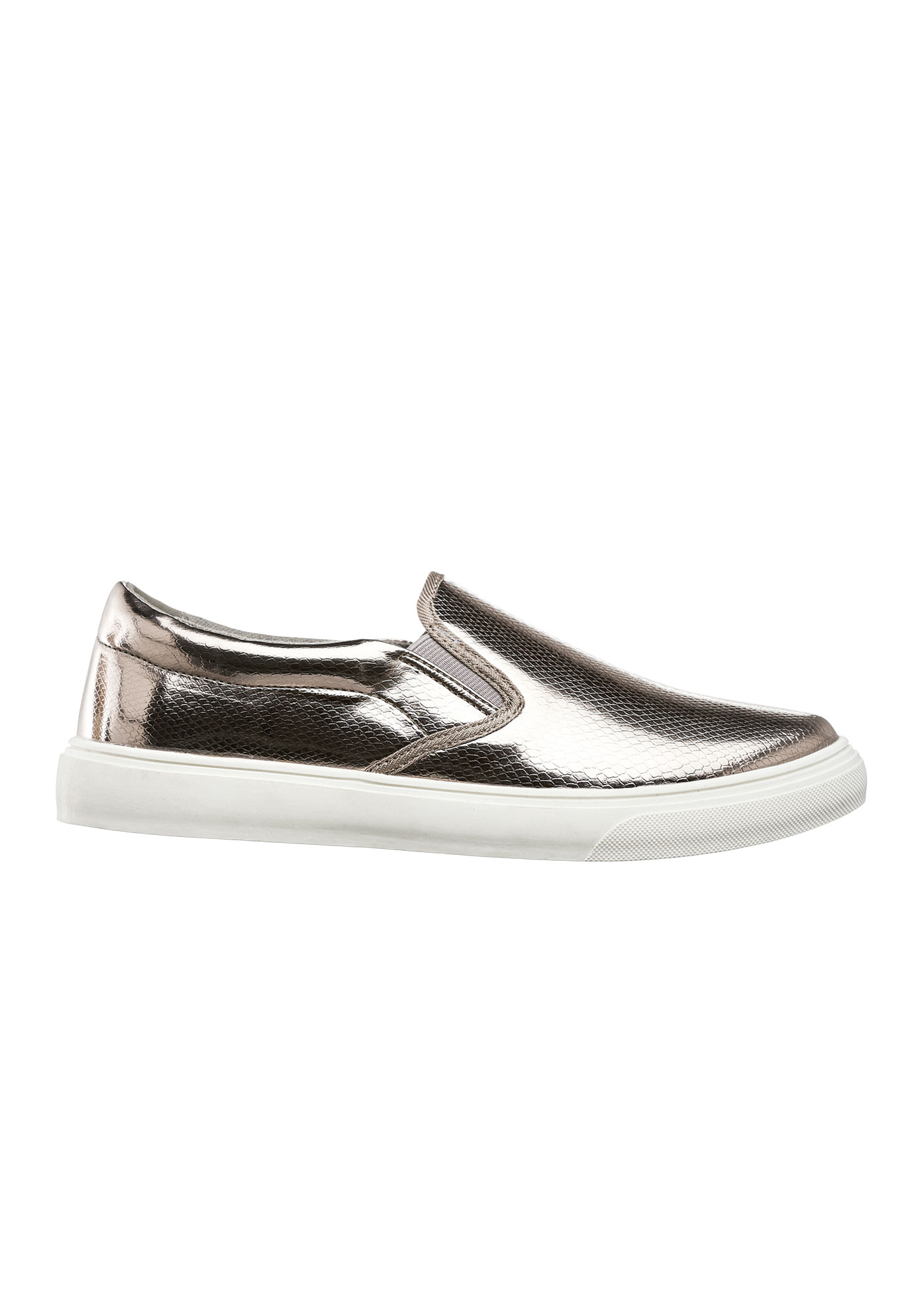 Embossed Slip-On Sneaker by ellos®,