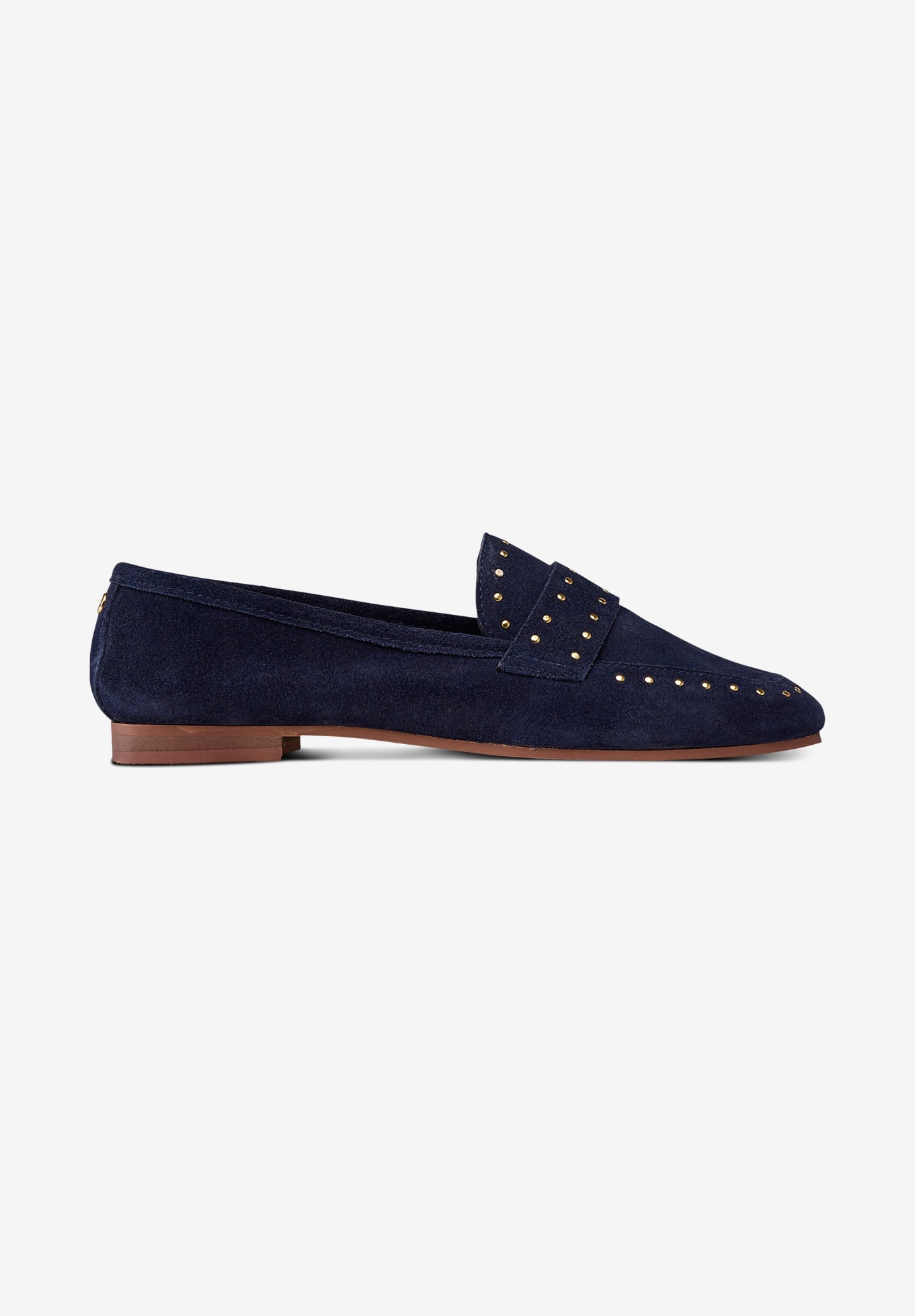 Studded Suede Loafers by ellos®,