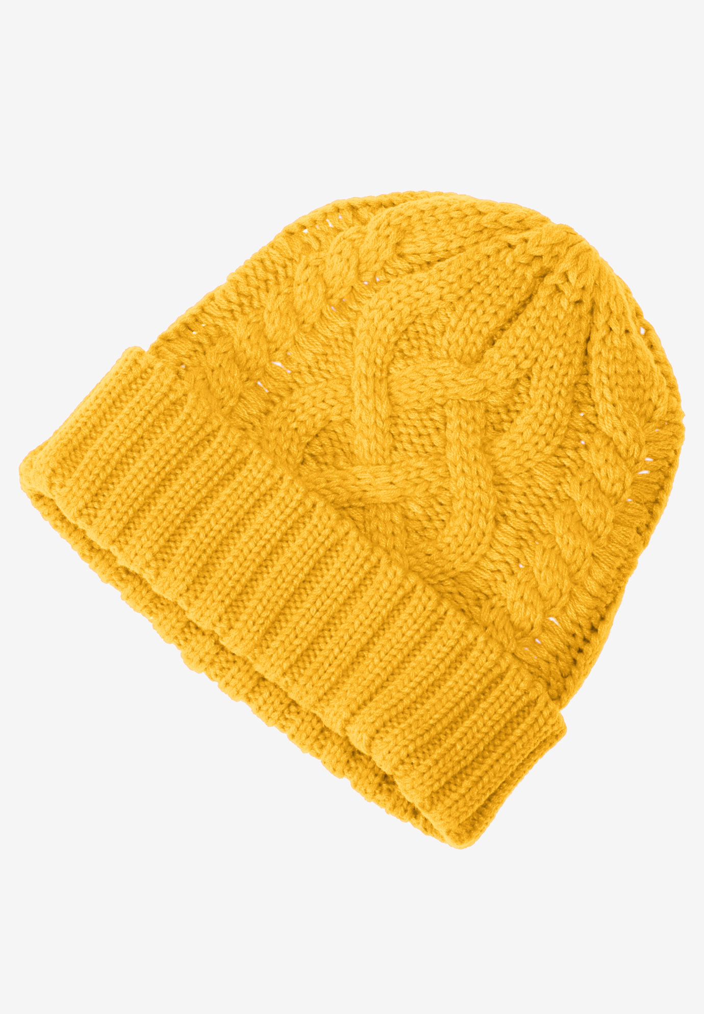 Cable Knit Hat by ellos®,