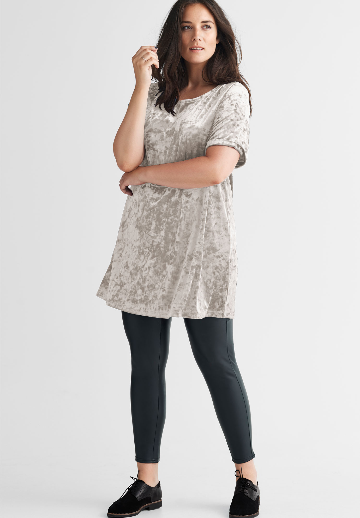 Velour Tunic by ellos®,