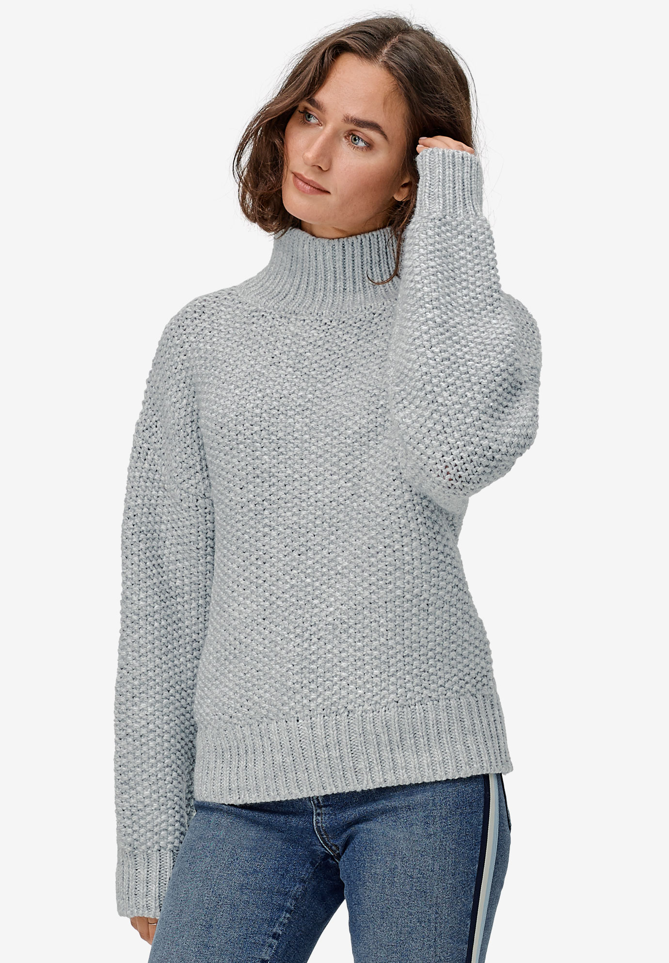 Chunky Turtleneck Sweater by ellos®,