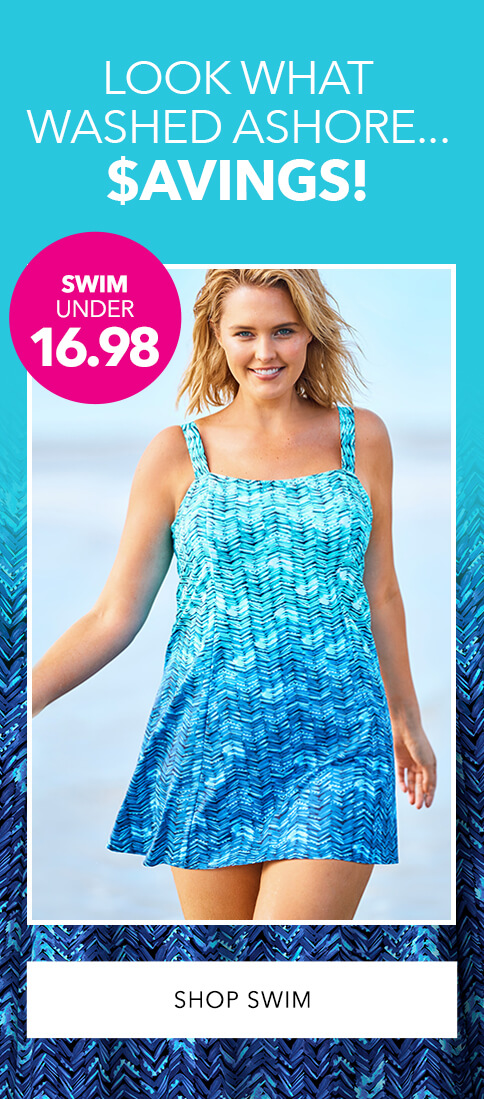 Clearance Swimwear - Under $16.98 - SHOP SWIM