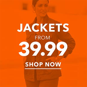 Jackets from $39.99 - SHOP NOW