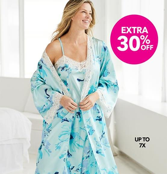 Extra 30% off Sleepwear