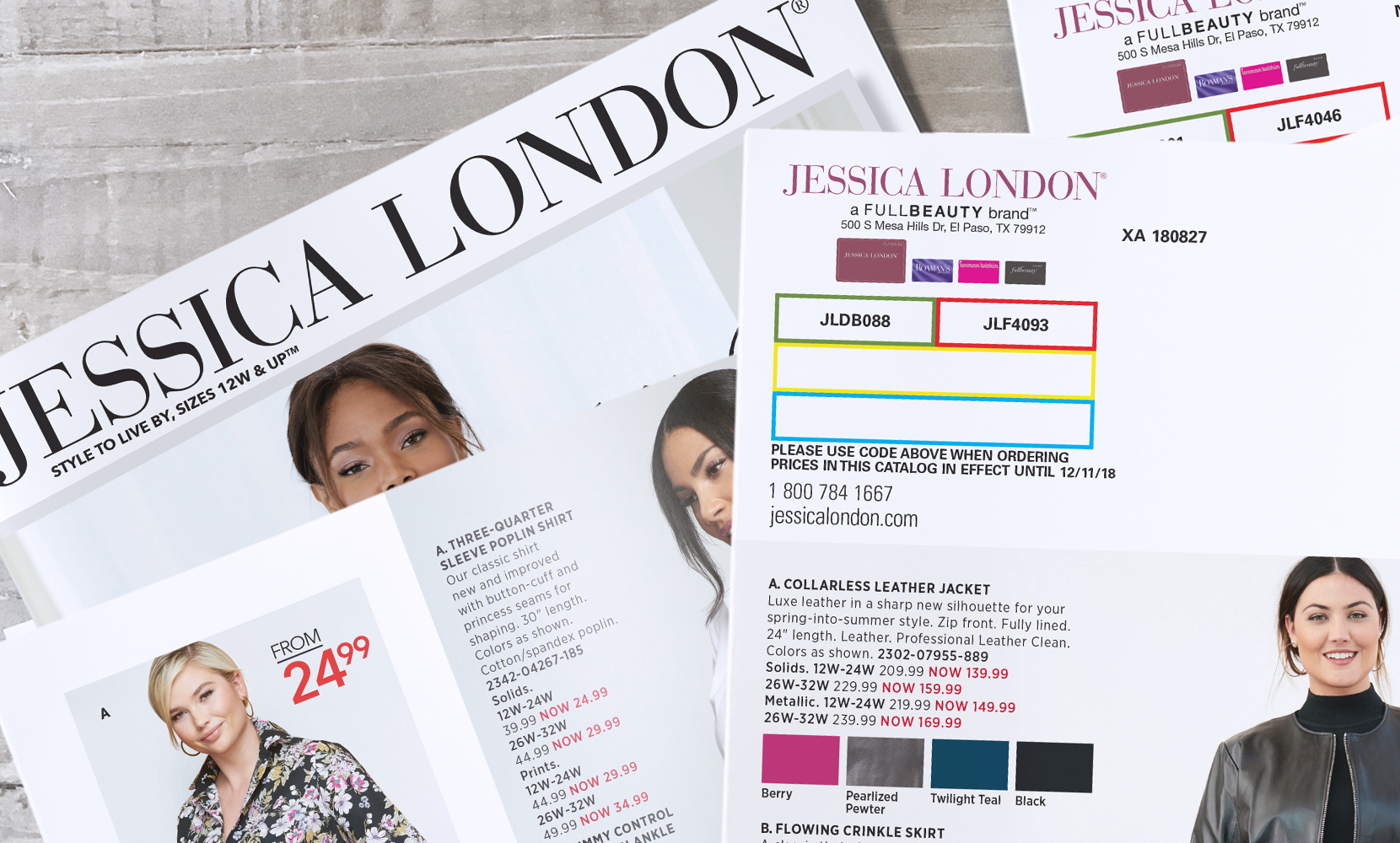 Jessica London Catalogs