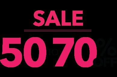 Spring Shoe Sale - 50-70% Off