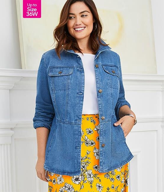 COATS & JACKETS - UP TO SIZE 36W