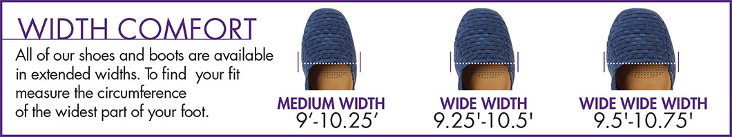 Guide to Wide Width Shoes by