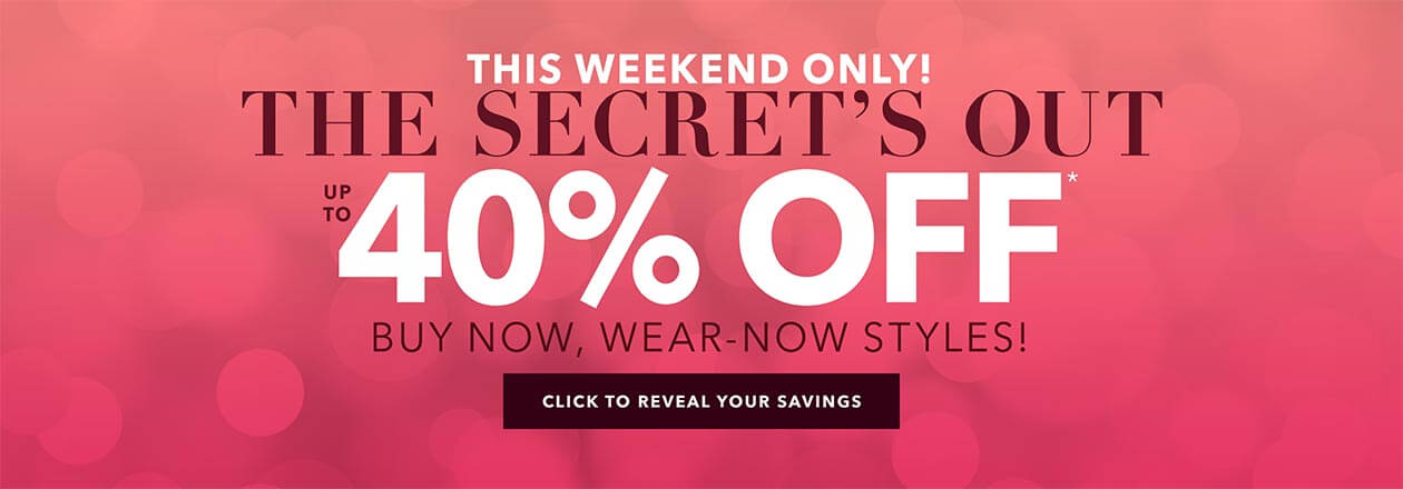 Fall Favorites flash sale! Up to 60% off! - SHOP THE SALE