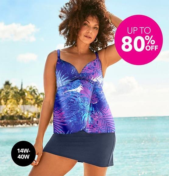 Up to 80% off Swimwear