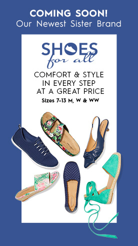 Shoes For All - New Site Coming Soon
