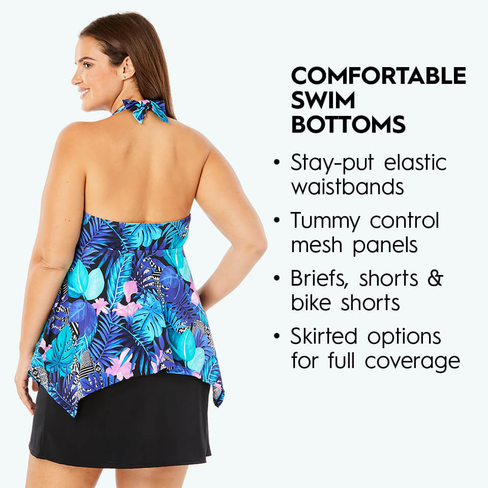 comfortable swim bottoms